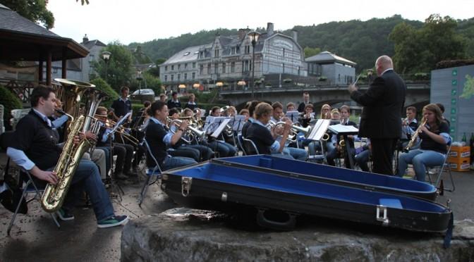 Geslaagde concertreis Jeugdorkest naar Durbuy (B)