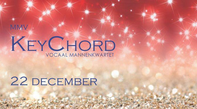 Kerstconcert 2019 – Speciale gast 'KeyChord'